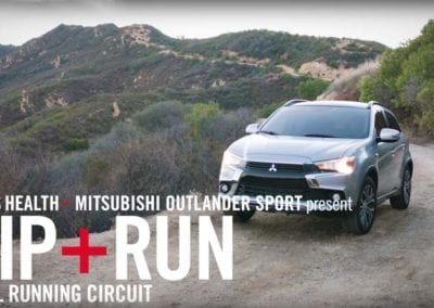 MENS HEALTH MITSUBISHI – TRAIL RUNNING