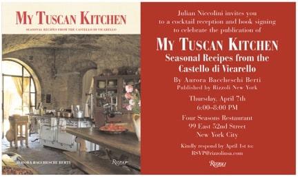 My Tuscan Kitchen Castello di Vicarello