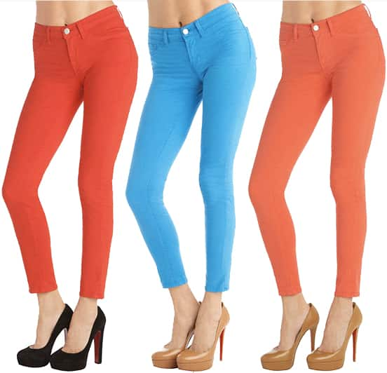 Brightly Colored Jeans