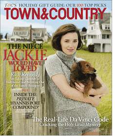 town & country magazine kick kennedy