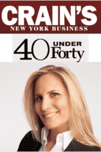 crains new yrok 40 under 40 lauren silverman