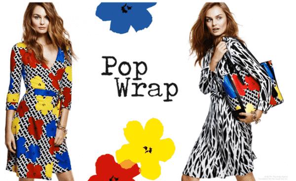 DVF Pop Wrap