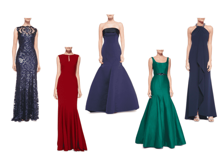 Holiday  Jewel Tone Gowns