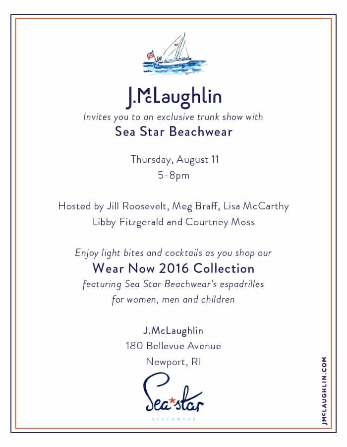 J.McLaughlin & Sea Star in Newport
