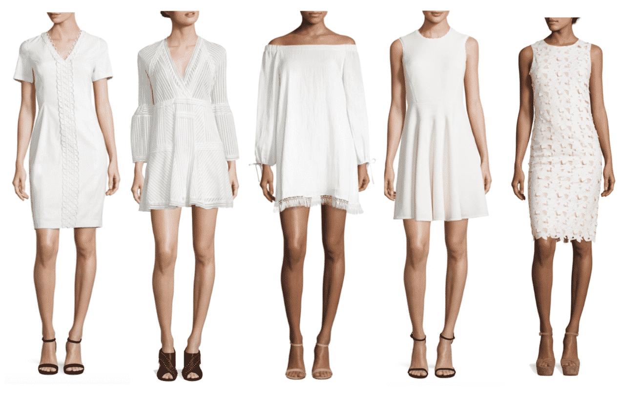 BUY NOW:  White Dresses Under $300