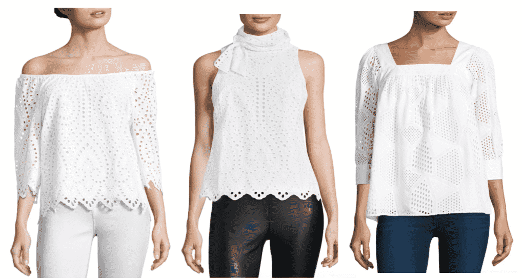 BUY NOW: Eyelet Tops