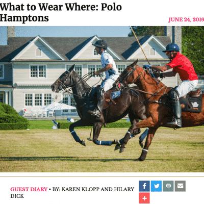 Hampton Polo 2019