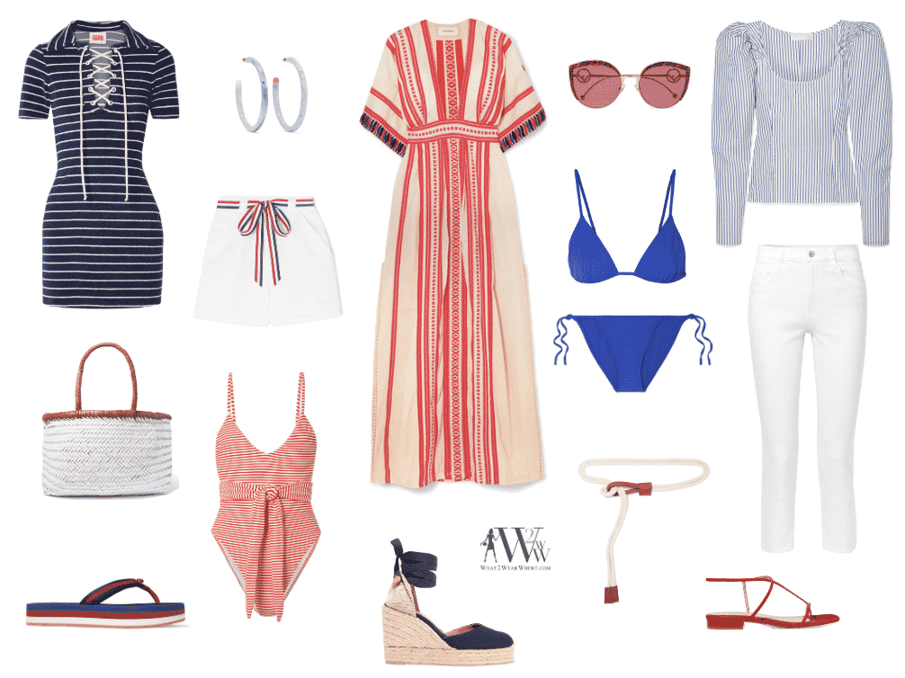 Hilary Packs for July 4th