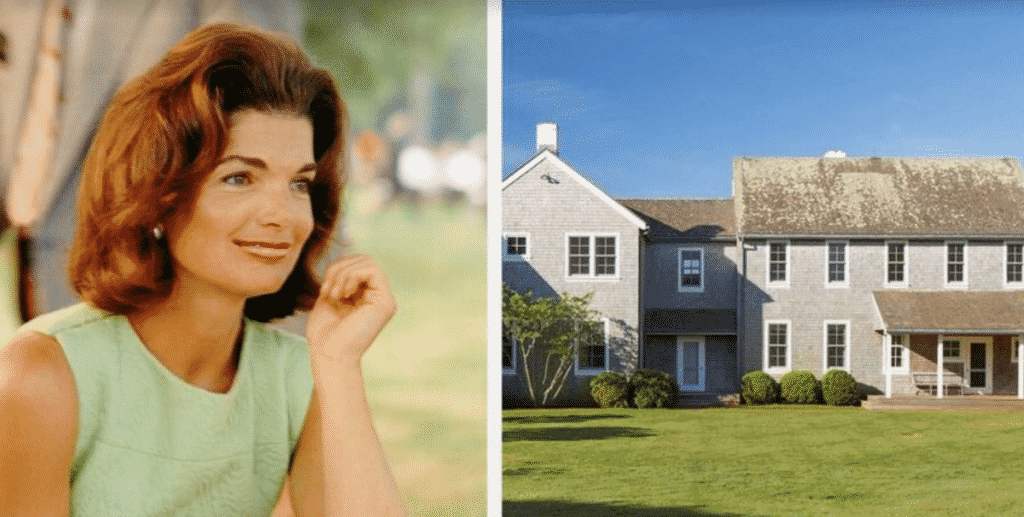 Town & Country , Jackie Kennedy Onassis's Martha's Vineyard House For Sale.
