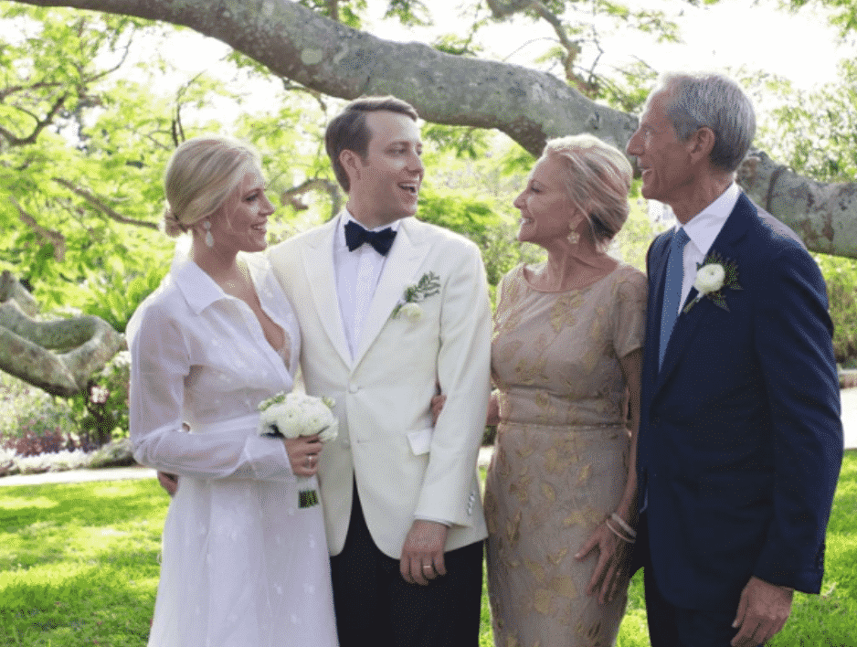Inside Vogue, Meghan Horstmann and Adam Klopp wedding in Bermuda at Coral Beach Club