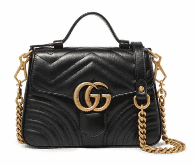 Gucci Mini Marmont Bag.  Karen Klopp picks her favorite Mini Bags, a Fall Trend 2019