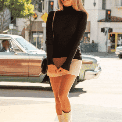 Margot Robbie, Sharon Tate Style, Once Upon a Time in Hollywood