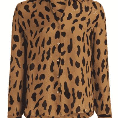 Fall Trending animal print blouses