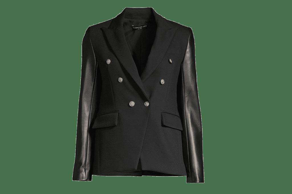 Fashion Trend Leather Blazer