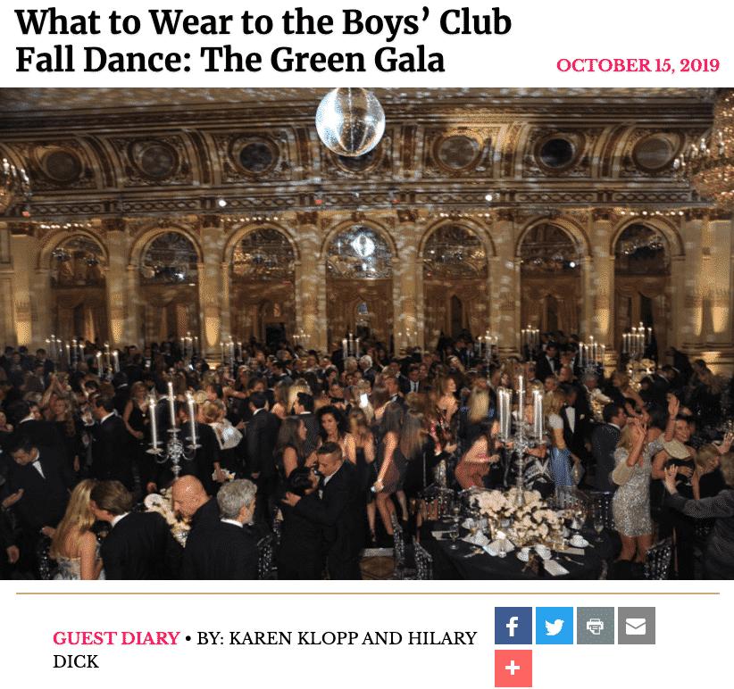 NYSD Boy's Club Dance
