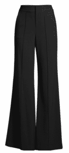 long and flared and a perfect alternative as cocktail attire.  Wear with a silk shirt, and pumps for an elegant flair.
