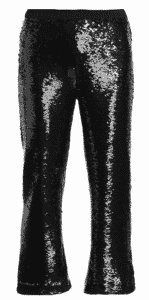 Figue Sequin Pants great for Holiday dressing.