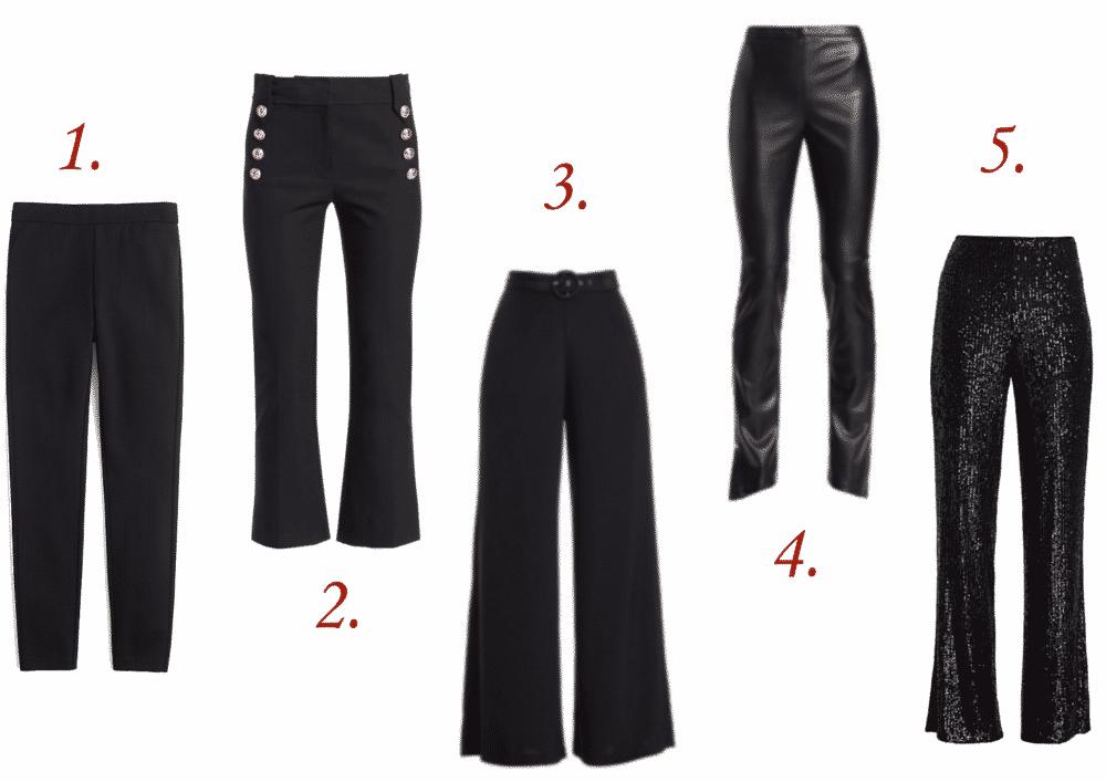 5 Must Have Black Pants