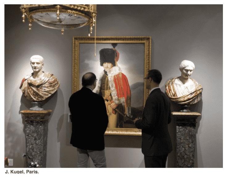 The Society Memorial Sloan Kettering Opening Night at TEFAF.  J. Dugel Gallery.