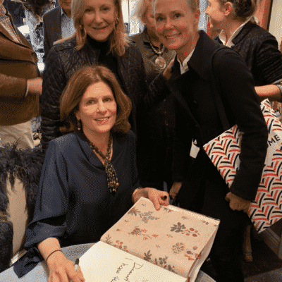 Lisa Fine, Karen Klopp, Hilary Dick booksigning Creel & Gow