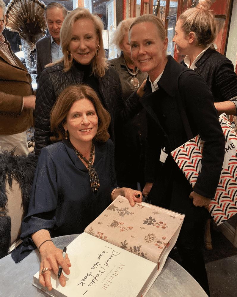 Lisa Fine, Karen Klopp, Hilary Dick booksigning Creel & Gow
