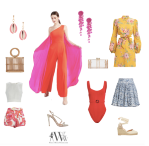 Hilary Dick's colorful fashion
