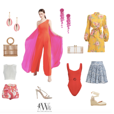 Hilary Dick's colorful fashion
