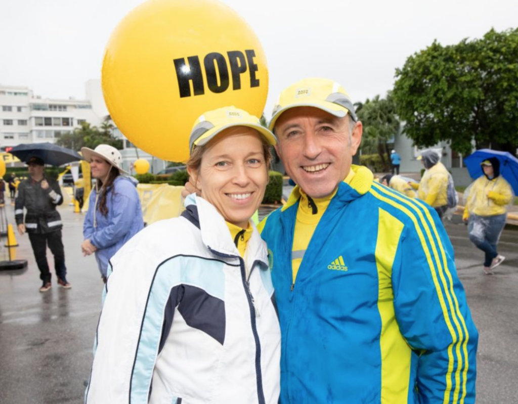 Audrey Gruss, Hope for Depression Run in Palm Beach