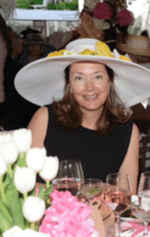 Lisa McCarthy.  What to wear Windsor Charity Polo Cup