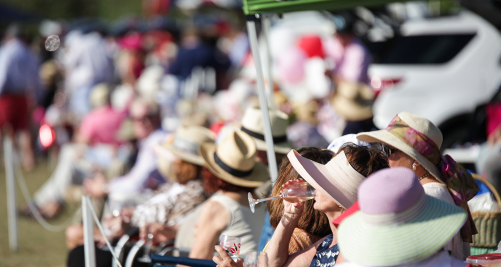 Spectator watch at the Windsor Polo Cup.  What to wear Windsor Charity Polo Cup