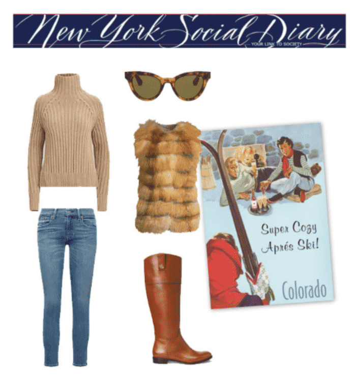 NYSD What To Wear Aprés Ski