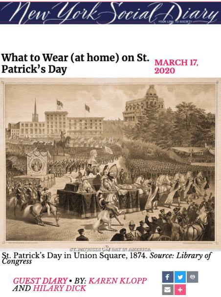 NYSD St. Patrick's Day
