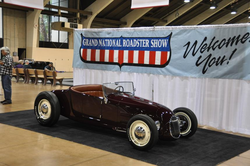 "Congratulations to John Mumford and the Roy Brizio Street Rods team for winning ""America's Most Beautiful Roadster"" at the 64th Grand National Roadster Show with the Kelly Brown Track T!"