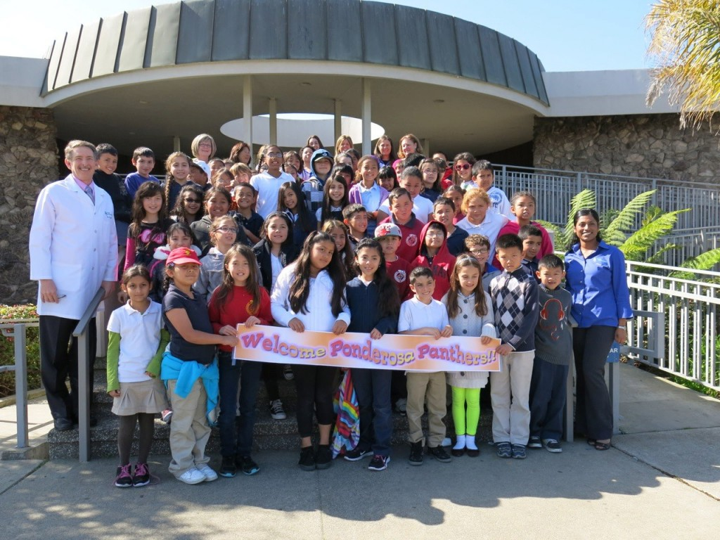 65 students from Ponderosa's 3rd grade class made a visit to DUGONI Orthodontics on February 27th.