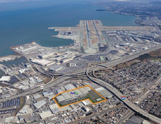 FedEx will house about 500 employees in the SFO Logistics Center. Photo: SF Business Times