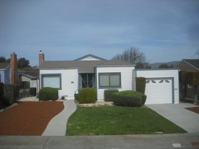 820 Reid Ave San Bruno Asking $589,000 Sold for $676,000