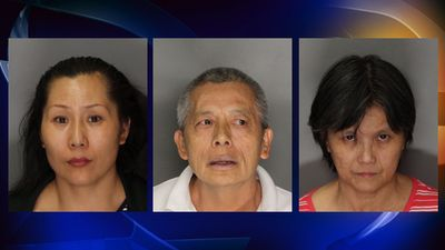3 of the 4 suspects from yesterday's arrests that took place in South San Francisco and Sacramento  Photo NBC Bay Area News