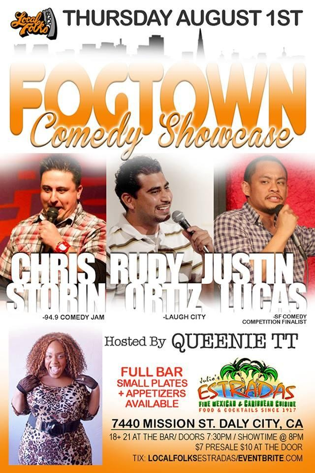 Comedy Club in Colma 7.2013