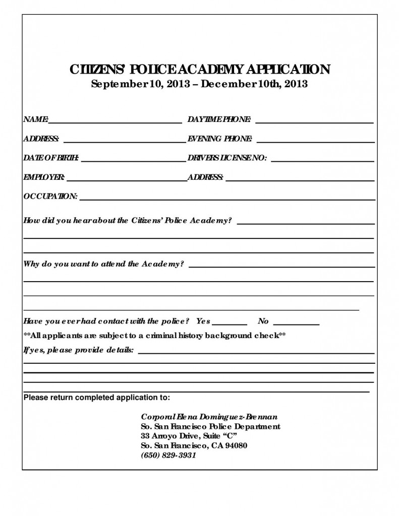 SSFPD Citizens Academy Application-page-001