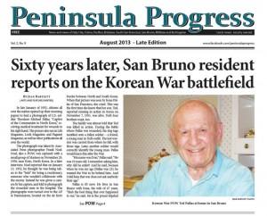 Korean Vet POW Ted Pallas