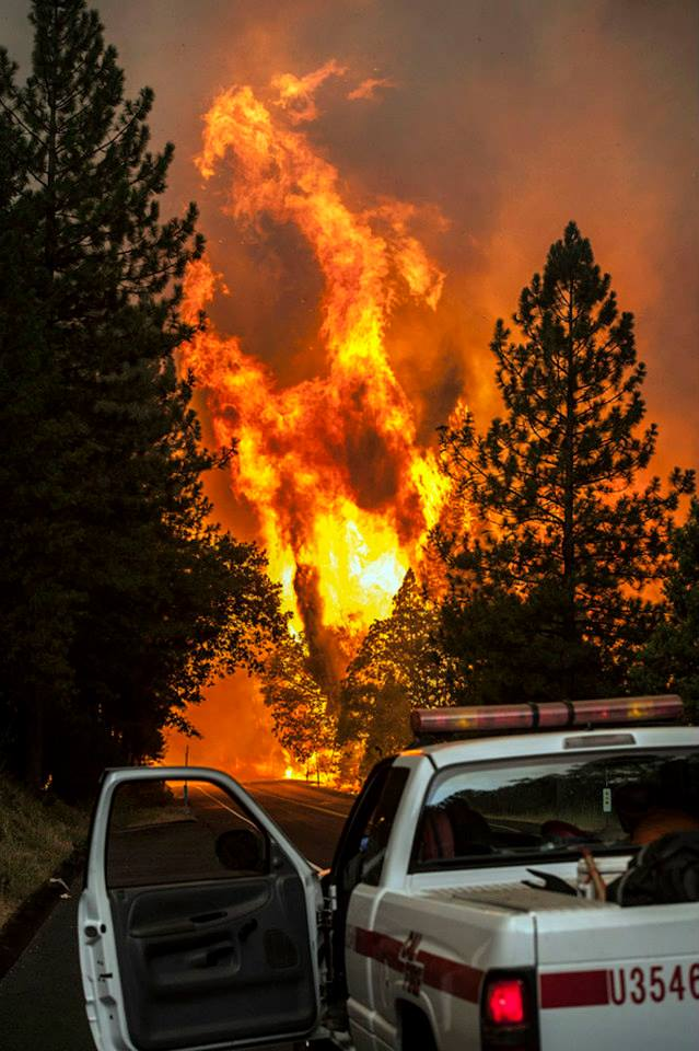 CalFire & US Forest Service in UNIFIED COMMAND