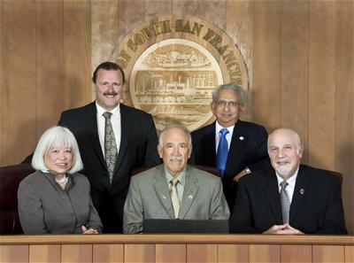 Current City Council; 4 of these 5 seats are open for this November election