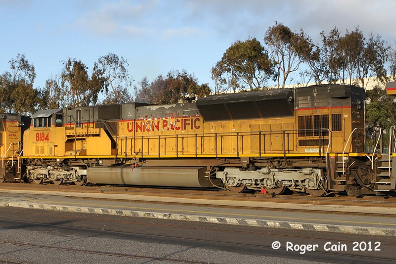 Trains passing through South San Francisco  SD9043AC - can you say BIG? 6,000 horses sitting there.  Photo: ROGER CAIN