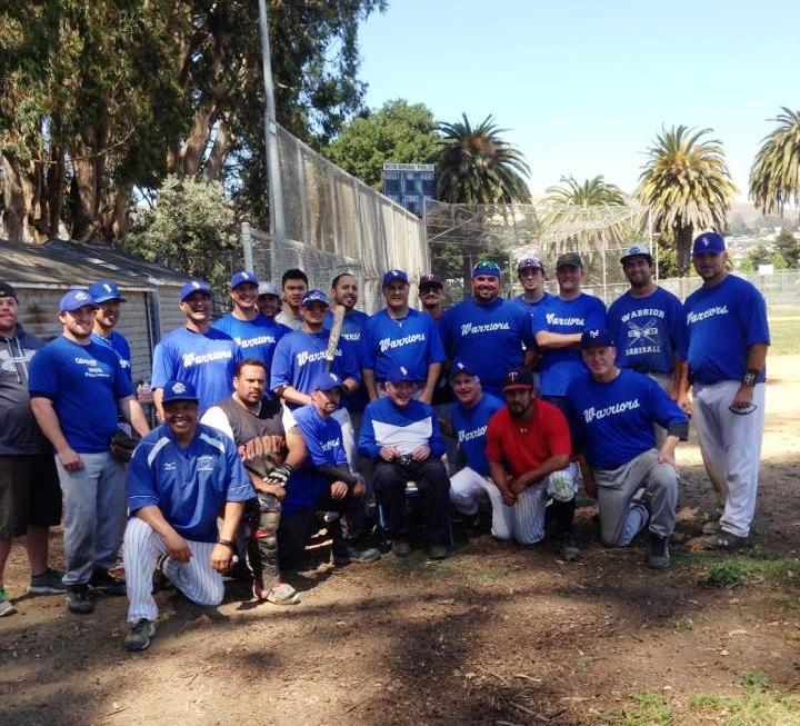 Annual Alumni game is played by Coach Brian's players on the field that was dedicated to the coach