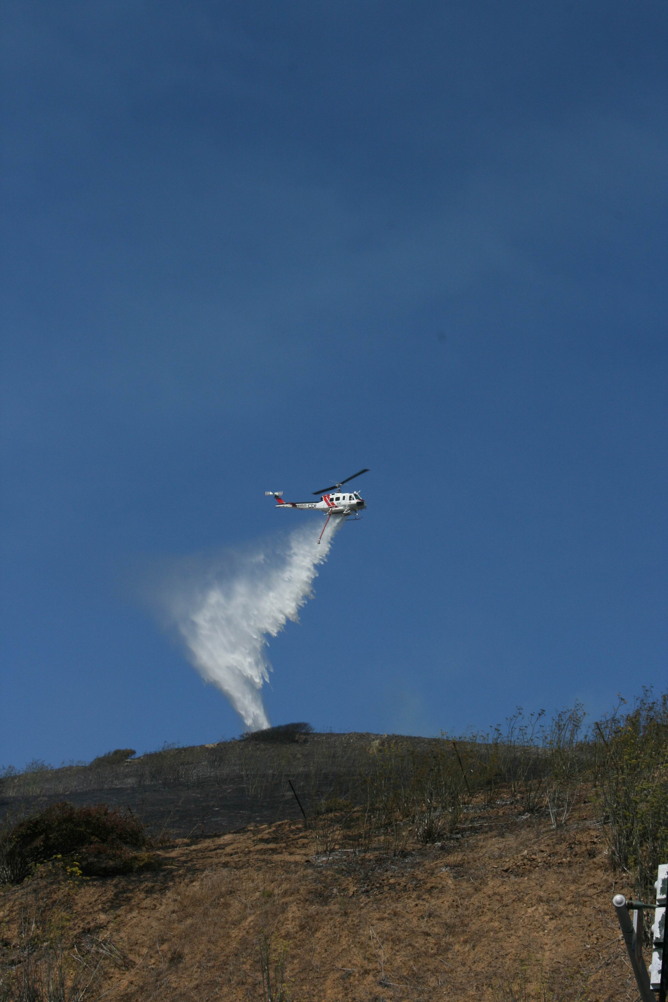 Cal Fire dropping  Source: cm