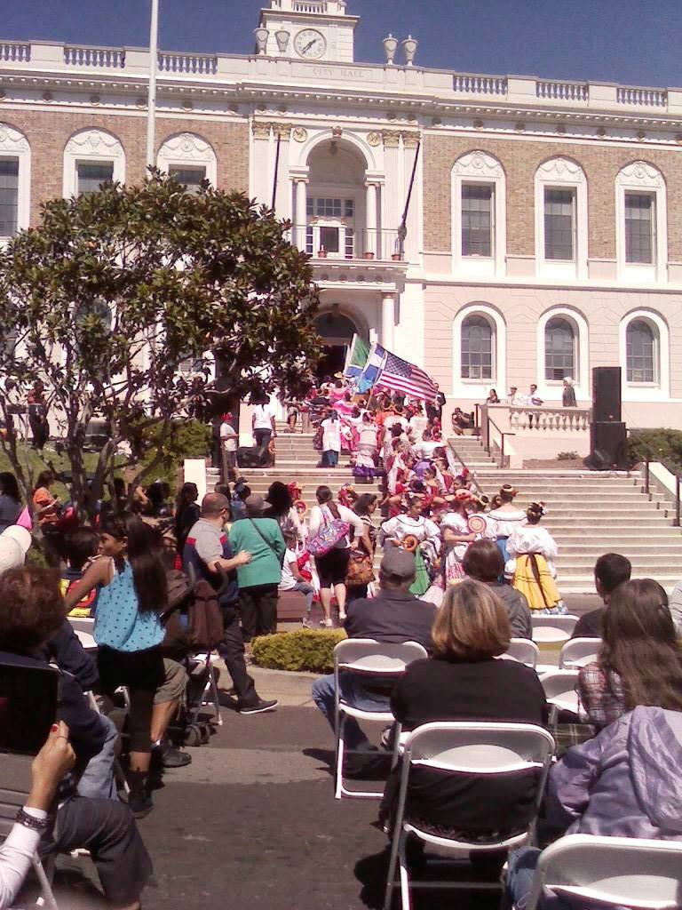 Celebrations getting started on Grand Avenue Photo; C Arias