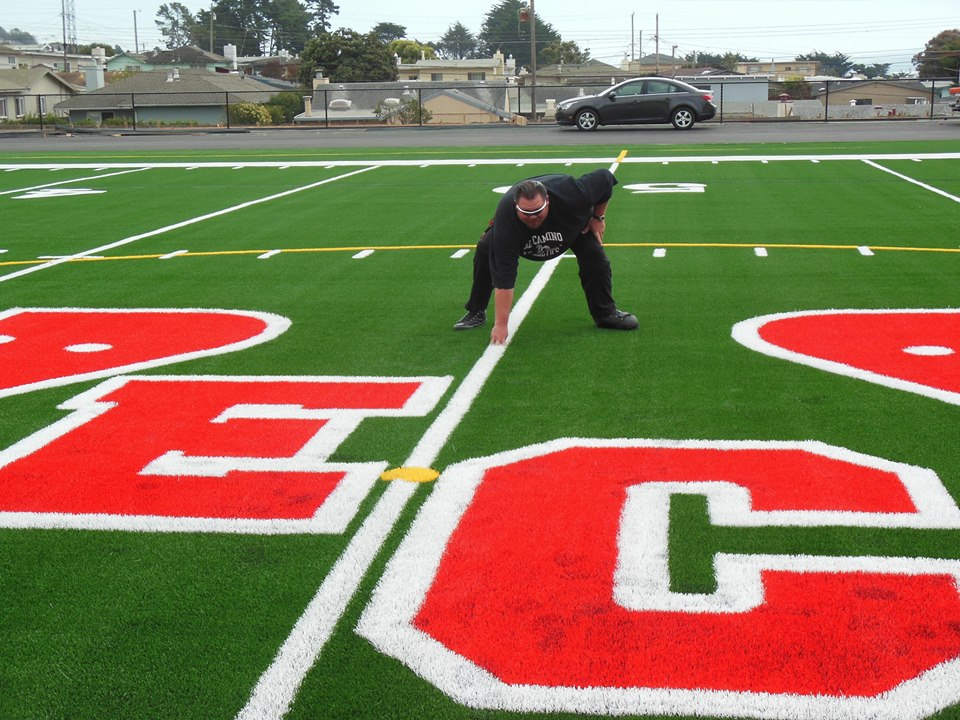 El Camino High School's new field, a product of Measure J funds