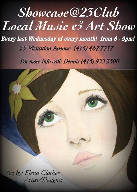 local music & art show 23 club