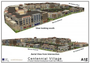 This proposed project would sit on the 14.5 acres replacing Safeway, CVS, Ballys....
