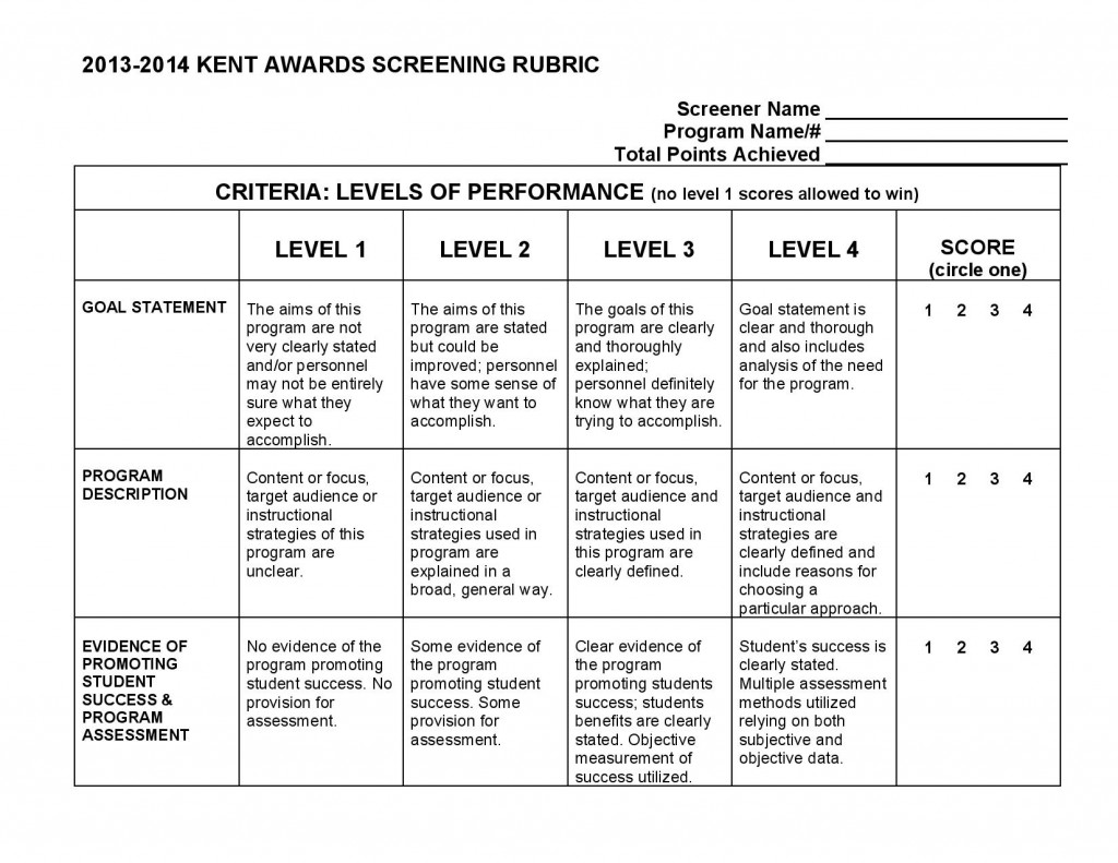 Kent AwardScreening-Rubric-2014-page-001